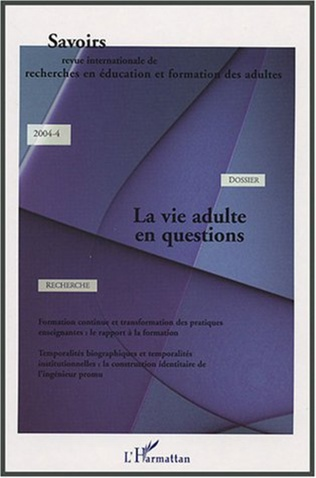 Couverture La vie adulte en questions