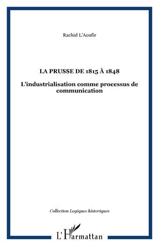 Couverture La Prusse de 1815 à 1848