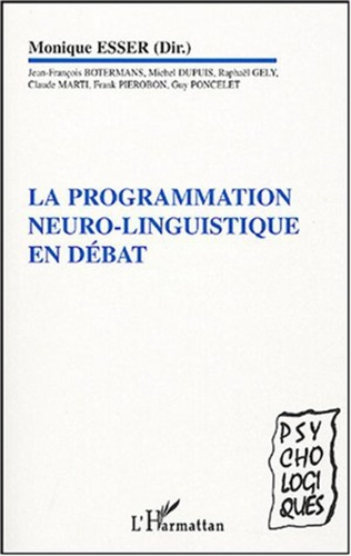 Couverture La programmation neuro-linguistique en débat