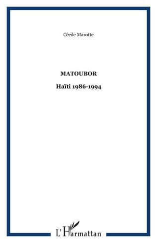Couverture Matoubor