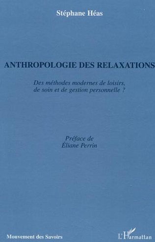 Couverture Anthropologie des relaxations
