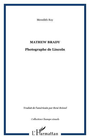 Couverture Mathew Brady