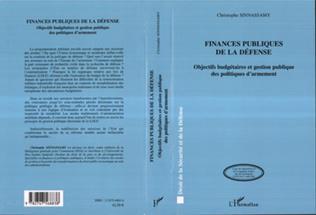 Couverture Finances publiques de la défense