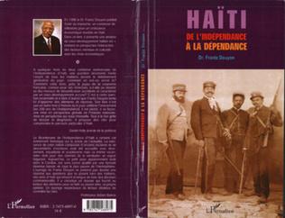Couverture Haïti de l'indépendance à la dépendance