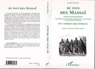 Couverture Au pays des Massaï