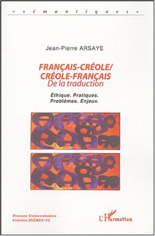 Couverture Français-Créole  Créole-Français