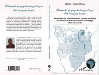 Couverture Eléments de psycholinguistique des langues bantu