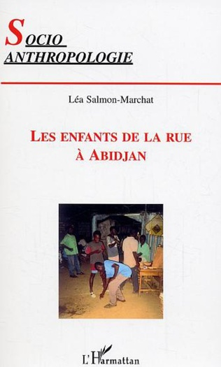 Couverture Les enfants de la rue à Abidjan