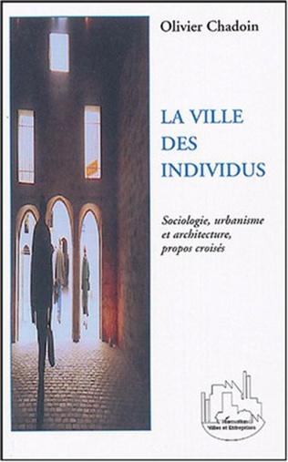Couverture La ville des individus