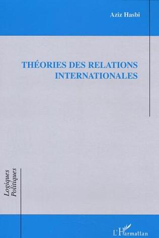 Couverture Théories des relations internationales