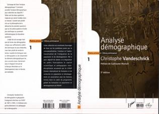 Couverture Analyse démographique