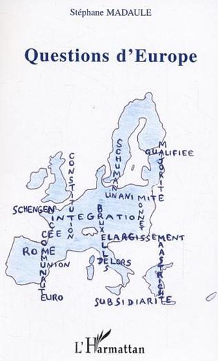 Couverture Questions d'Europe