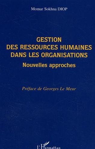 Couverture Gestion des ressources humaines dans les organisations