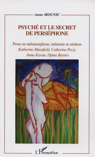 Couverture Psyché et le secret de Perséphone
