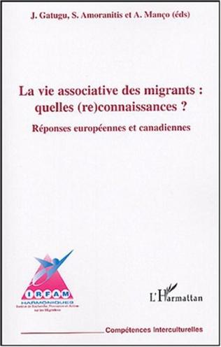Couverture La vie associative des migrantes : quelles (re)connaissances ?