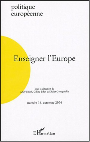 Couverture Enseigner l'Europe