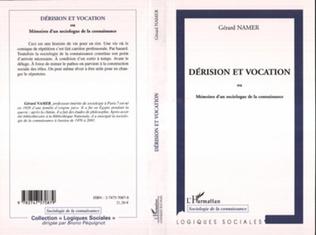 Couverture Dérision et vocation