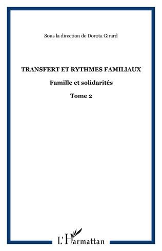 Couverture Transfert et rythmes familiaux