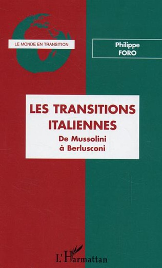 Couverture Les transitions italiennes