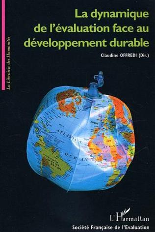 Couverture La dynamique de l'évaluation face au développement durable