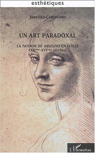 Couverture Un art paradoxal