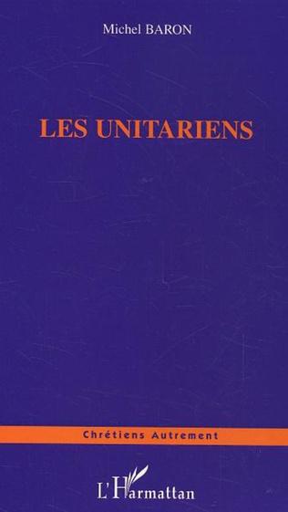Couverture Les Unitariens