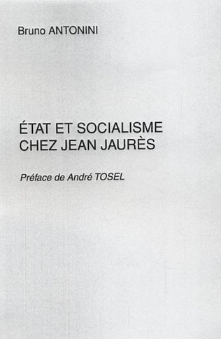 Couverture Etat et socialisme chez Jean Jaurès