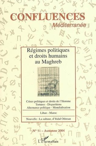 Couverture Régimes politiques et droits humains au Maghreb