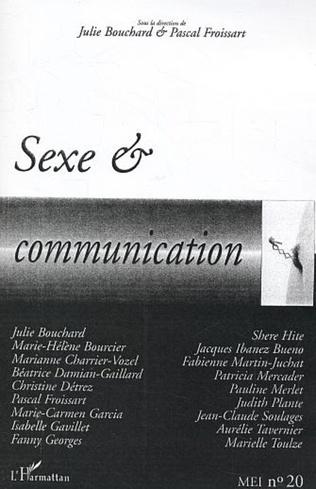 Couverture Sexe et communication