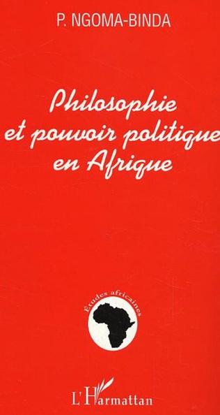 Couverture Philosophie et pouvoir politique en Afrique