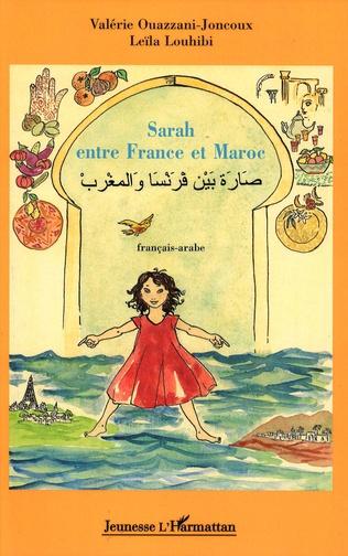 Couverture Sarah entre France et Maroc