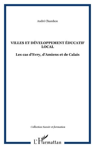 Couverture Villes et développement éducatif local