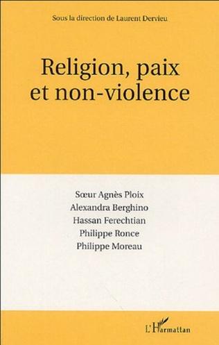 Couverture Religion, paix et non-violence