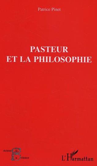 Couverture Pasteur et la philosophie