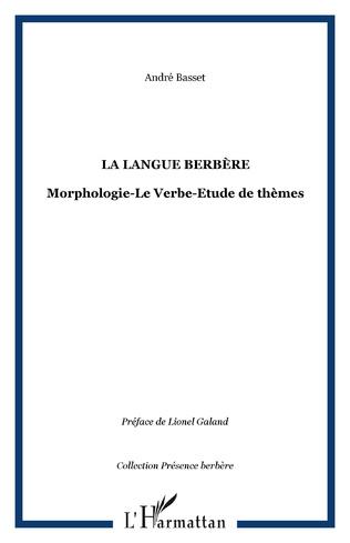 Couverture La langue Berbère