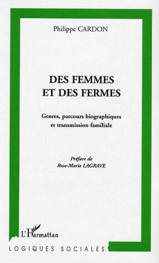 Couverture Des femmes et des fermes