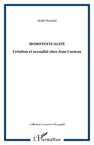 Couverture Homotextualité