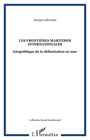 Couverture Les frontières maritimes internationales