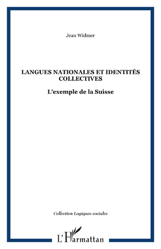 Couverture Langues nationales et identités collectives