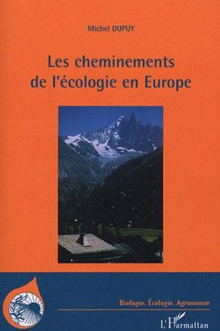 Couverture Les cheminements de l'écologie en Europe