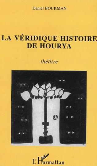 Couverture La véridique histoire de Hourya