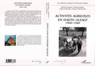 Couverture Activités agricoles en Haute-Alsace