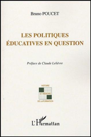Couverture Les politiques éducatives en question