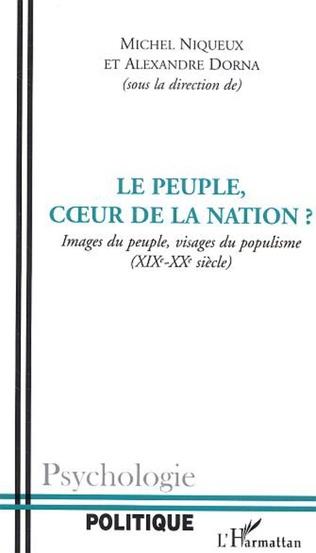 Couverture Le peuple, cœur de la nation