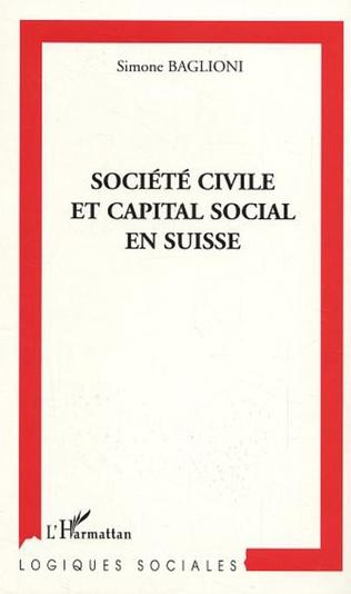 Couverture Société civile et capital social en Suisse