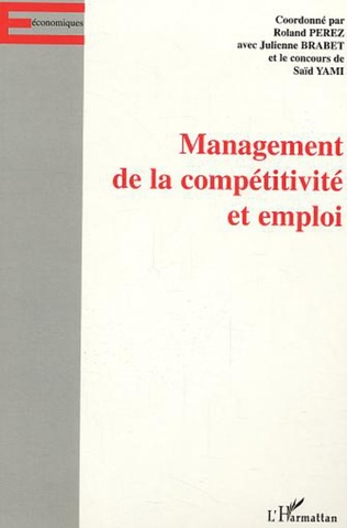 Couverture Management de la compétitivité et emploi
