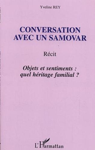 Couverture Conversation avec un samovar