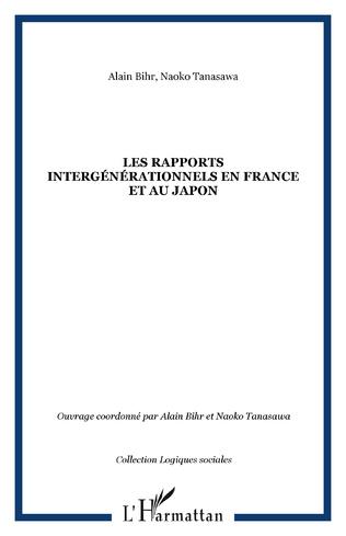 Couverture Les rapports intergénérationnels en France et au Japon