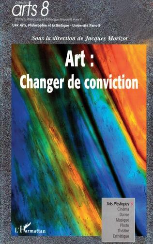 Couverture Art: changer de conviction