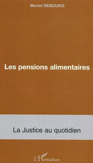 Couverture Les pensions alimentaires